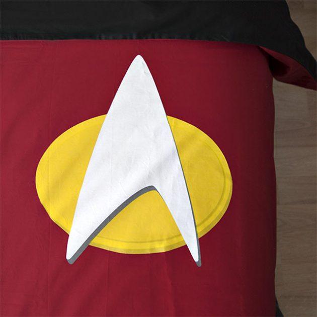 Star Trek The Next Generation Uniform Bedding Set