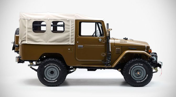 This Restored Toyota Land Cruiser FJ Leaves Us Completely Speechless
