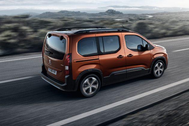 2018 Peugeot Rifter SUV