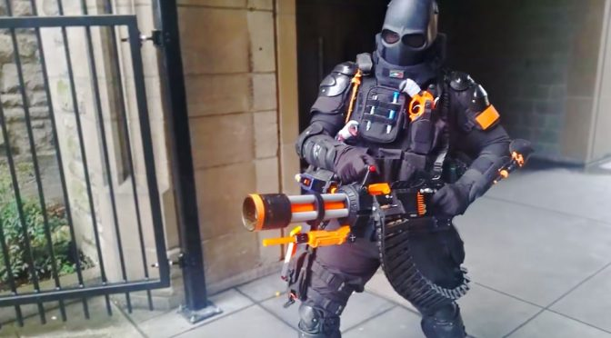 DIY NERF Rival Minigun by Captain Xavier