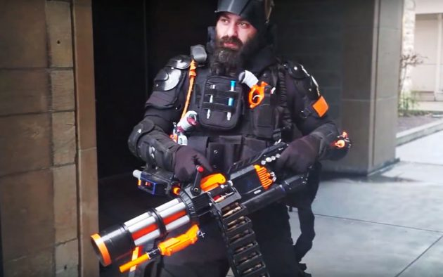 DIY NERF Rival Minigun by Captain Xavier