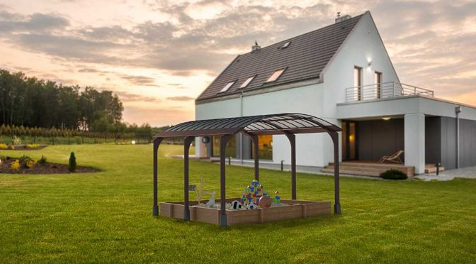This Classy Outdoor Canopy Aims To Provide Free Electricity To Your Home
