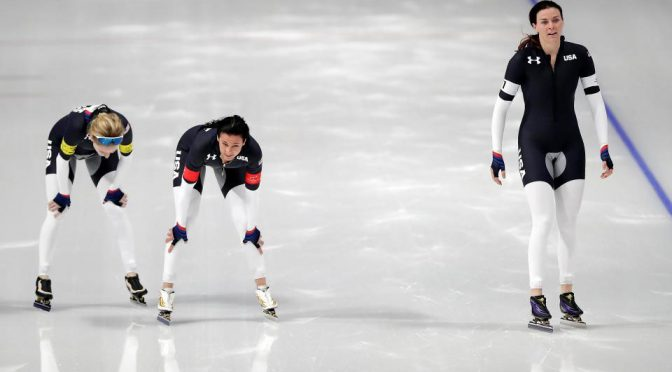 The Internet Is Outraged By Team USA's Speed Skating 'Pervy' Outfit