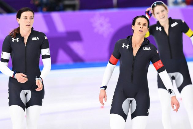 Team USA Speed Skating Crotch-highlighting Uniform